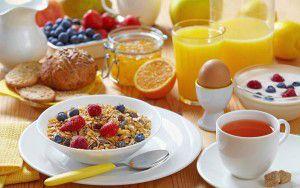 menú saludable para lunes-Desayuno