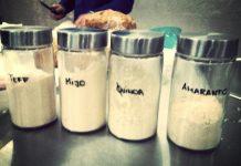 Alimentos sustitutos harina trigo