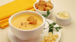 menú saludable para lunes- crema de zanahorias