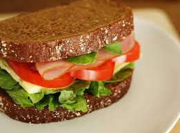 menú saludable para lunes- sandwich
