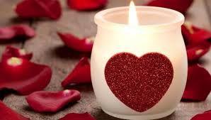 disfrutar la vida estando soltero en san valentin - vela corazon