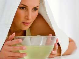 remedios caseros para resfriados y gripes - inhalar