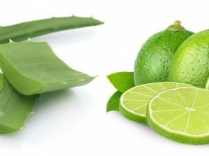 adios a la caspa-aloe vera y limon